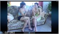 Mandy & Nicole Video 1 - Smoking In Duet