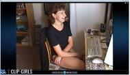 Simone Video 13 - Zu Hause Im Schwarzen Body