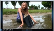 Vanessa Video 12 - Blue Jeans Wetlook
