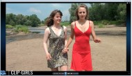 Eileen & Vanessa Video 2 - Barfoot Through Water And Sand