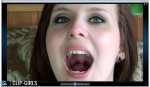 Janina Video 115 - Wide Opened Mouth