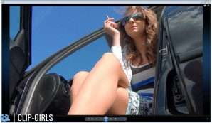 Vanessa Video 58 - Smoking In The Car