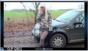 Jacqueline Video 29 - Smoking In Rubber Boots