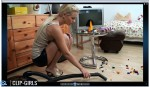 Jacqueline Video 33 - Vacuuming Messy K**s Room