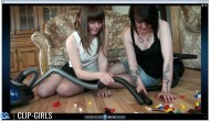 Eileen & Franziska Video 3 - Evil Sisters - LEGO Double Vacuuming