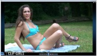 Annika Video 18 - Beach Voyeur Punishing