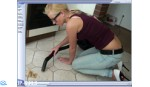 Jacqueline Video 62 - Vacuuming The Peanuts Mess