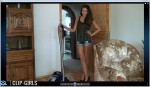 Ester Video 47 - Vacuuming In Jeans Shorts 2