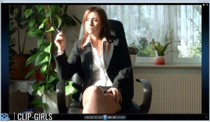 Anny Video 18 - Smoking In Business Outfit