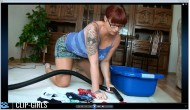 Michaela Video 48 - Kaercher Thong Vacuuming