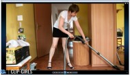 Simone Video 57 - Vacuuming 2 Rooms And Myself