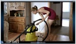 Anny Video 61 - Kaercher Vacuuming 2
