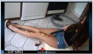 Annika Video 109 - LEGO Vacuuming In The Kitchen 2