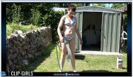 Simone Video 61 - Lawn Sprinkling In Bikini