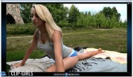 Vanessa Video 181 - Gymnastics In Top And Panties