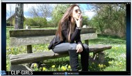 Ester Video 122 - Smoking And Flowers Trample On