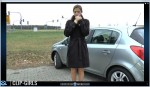 Svetlana Video 42 - Smoking In Winter Coat