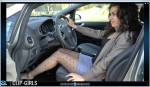 Sonja Video 18 - Revving In Miniskirt And Pantyhose