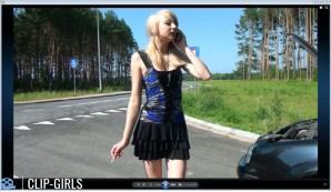 Vanessa Video 213 - Rauchen & Kippen Austreten Sammlung 2