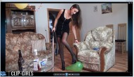 Ester Video 145 - After Party Vacuuming 2