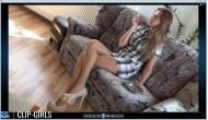 Svetlana Video 48 - Rauchen Im Minikleid Und Strumpfhosen 2