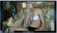 Vanessa Video 231 - Smoking In Bra And Hot Pants