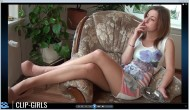 Anny Video 86 - Smoking In Mini Dress And Tights 3