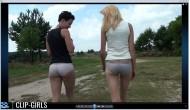 Nadine & Vanessa Video 13 - Pantyhose Destruction
