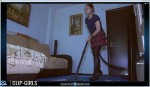 Adelina Video 2 - Vacuuming The Room And Myself