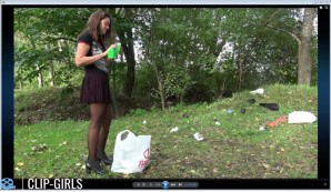 Ksenia Video 3 - Domestic Waste And Car Exhaust