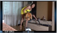 Valeria Video 1 - Big Sisters Vacuum Cleaner Lesson