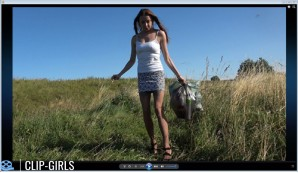 Michelle Video 1 - Waste Disposal And Smoking In The Meadow
