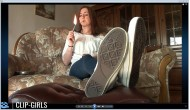 Anny Video 90 - Smoking In Jeans - Soles View