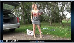 Adelina Video 6 - Die Müllkippe Am Waldweg