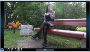 Elena Video 3 - Smoking In The Park