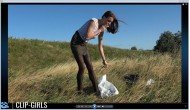 Michelle Video 4 - Waste Disposal And Smoking In The Meadow 2