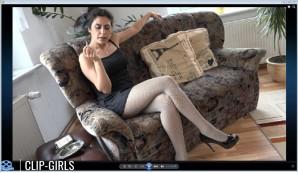 Sonja Video 31 - Rauchen Im Minikleid Und Strumpfhosen 2 & Bonus Video