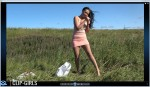 Valeria Video 5 - Waste Disposal And Smoking In The Meadow